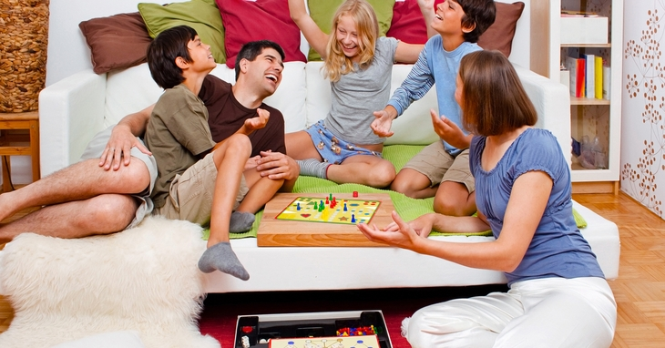 Image result for family playing board games