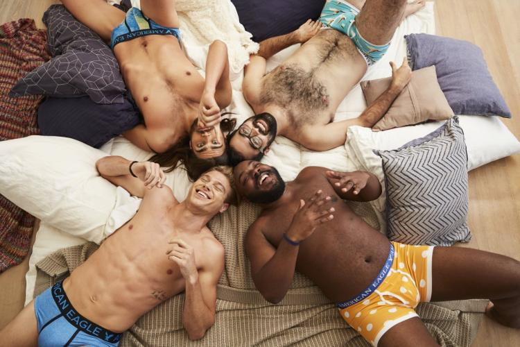 Image result for man in boxers with body hair