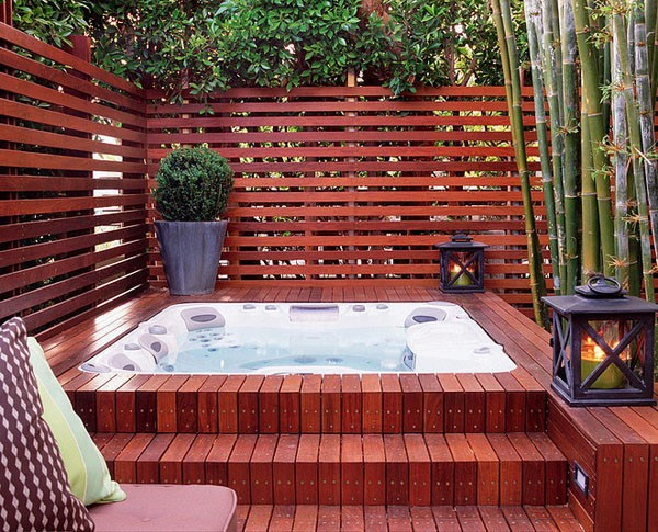 In Ground And Above Ground Hot Tub Ideas