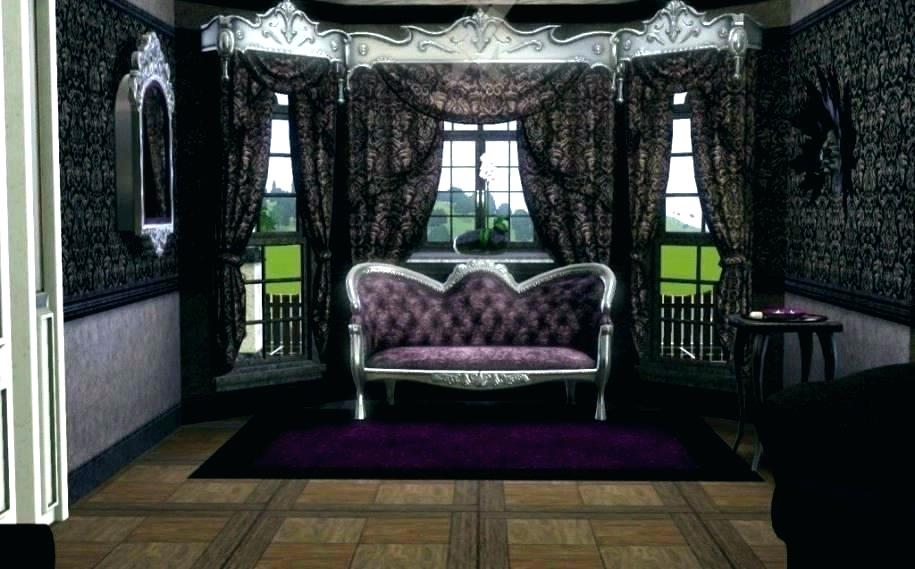 Image result for modern gothic curtains