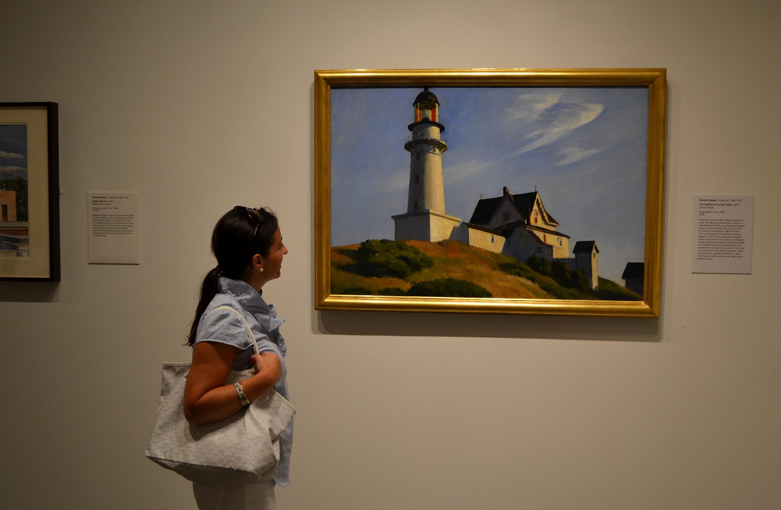 Image result for edward hopper lighthouse at two lights