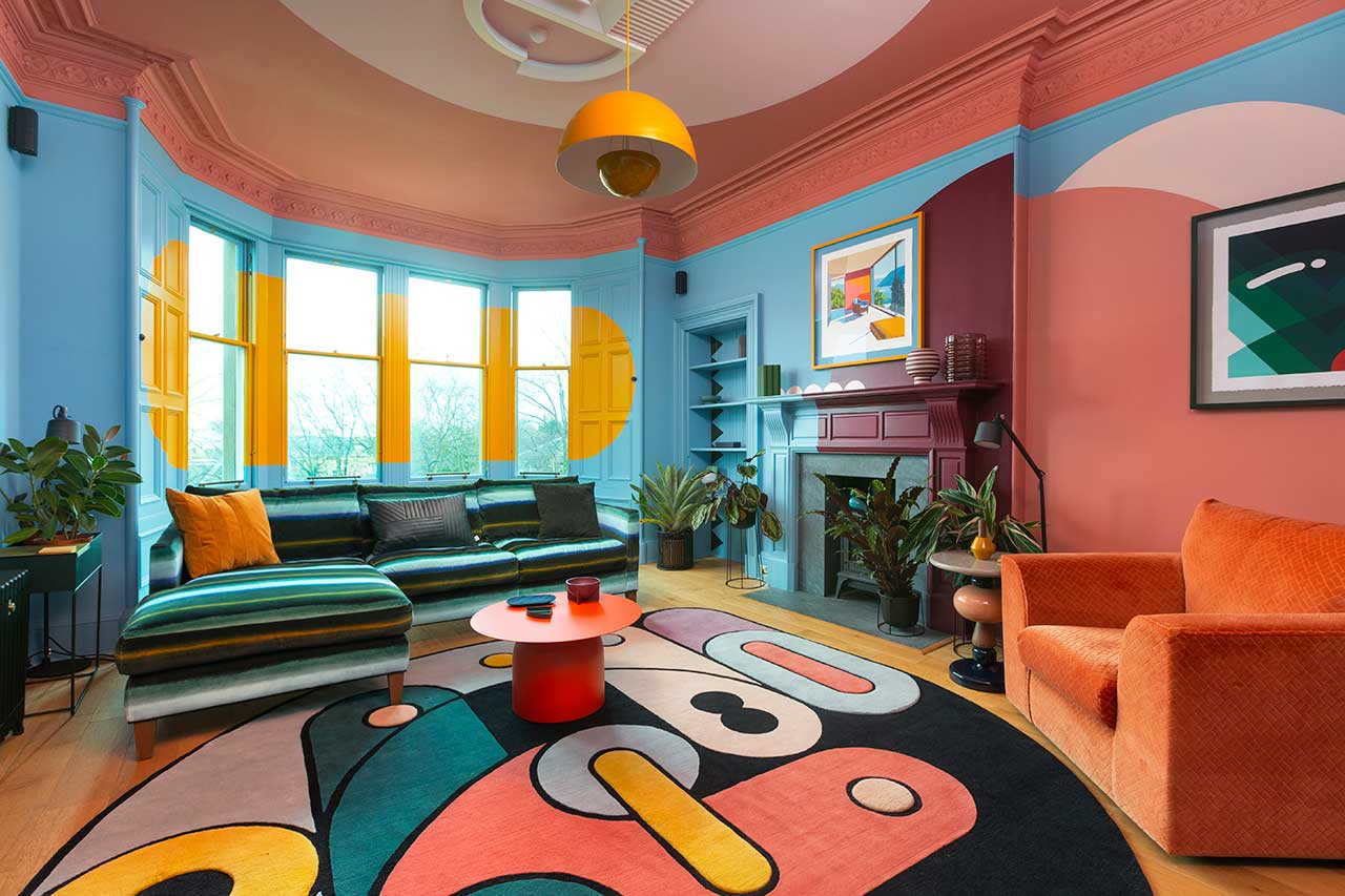 1960s apartment design funky design sam buckley padstyle