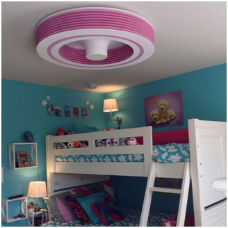 Alternative Living Bladeless Ceiling Fans PadStyle Interior