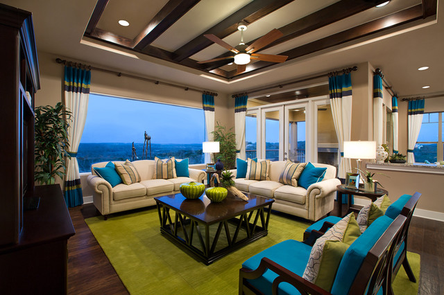 Interior Design Room with Cohesive Color Flow padstyle.com