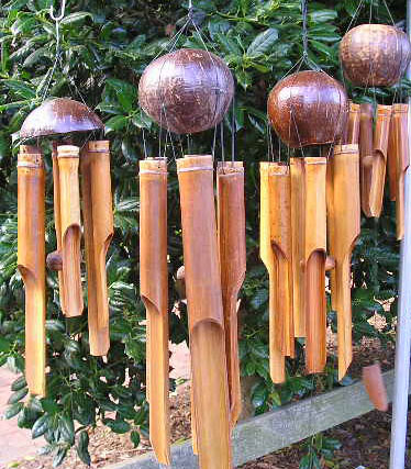 Why Hang Bamboo Wind Chimes At The Front Door Padstyle Interior