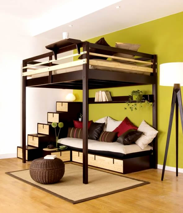 Frame With Built In Side Tables Ultra Modern Bedroom Furniture Ideas