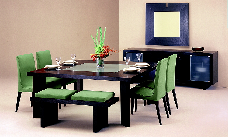 Modern dining room tables for Contemporary dining set