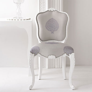 Brocade Home Decor brocade home's jacquard chairs – padstyle | interior design blog